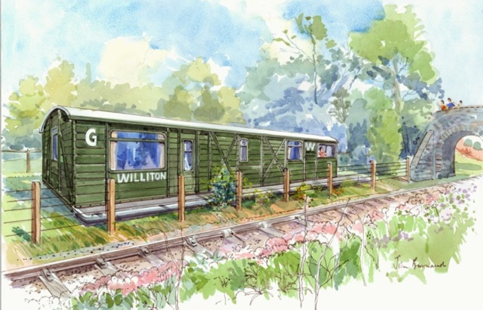An image of 'The Railway Carriage'